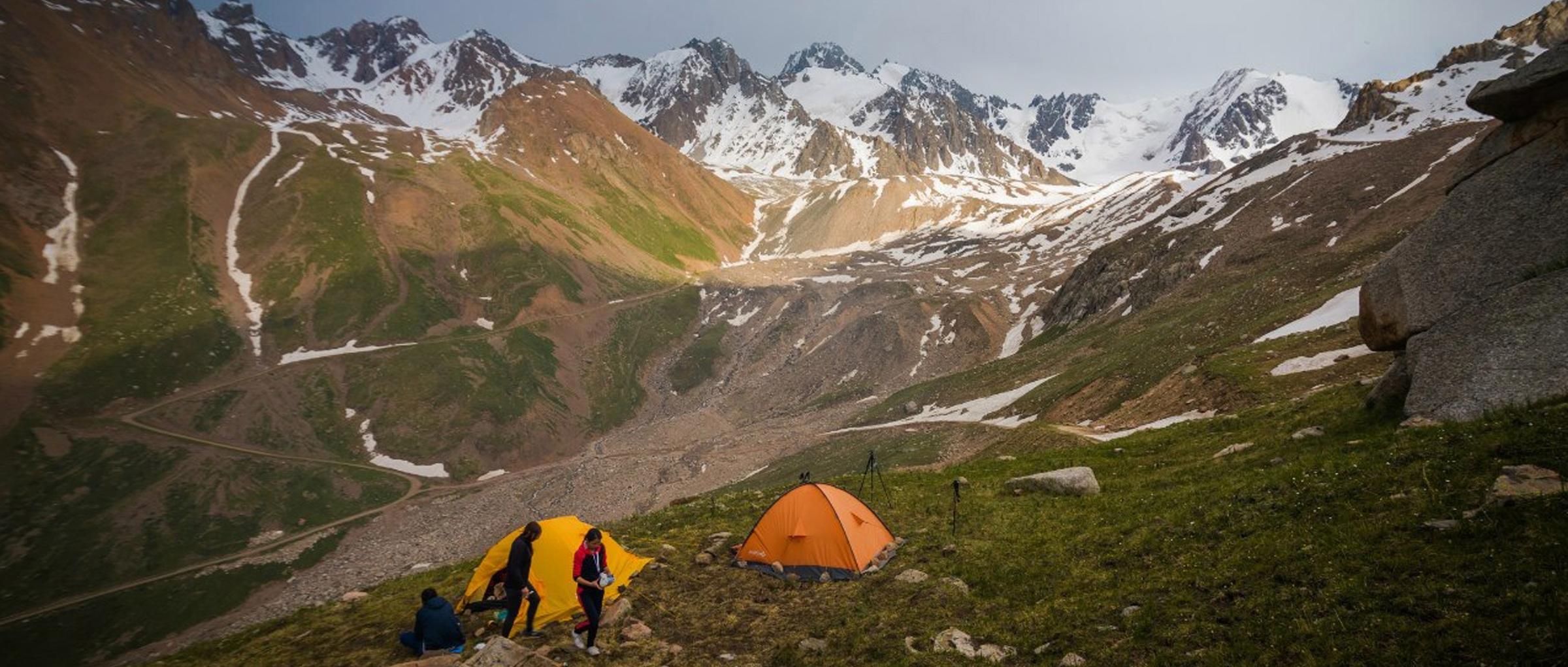 Міжнародна дитяча туристська експедиція в Казахстані